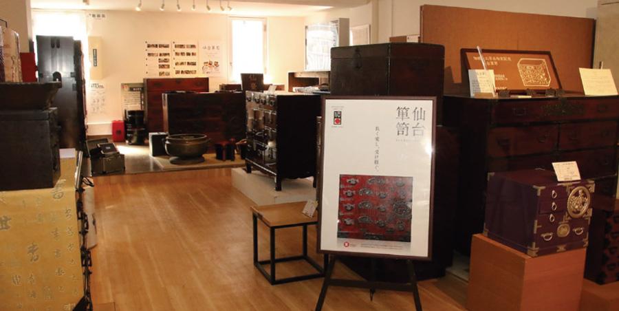 仙台箪笥歴史工芸館-館内